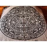 Souvenir México Cobija Polar Calendario Azteca