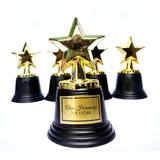 Estrella Trofeo Premio Estatuilla Dorada 12cm