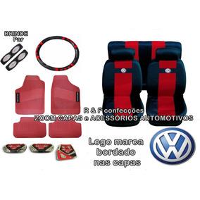 Capas De Bancos Automotivos De Tecido Kit Gol G2 G3 G4 G5 G6