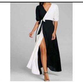 1ed356a60 Vestidos Casuales Largos Mujer - Vestidos Negro en Tabasco en ...