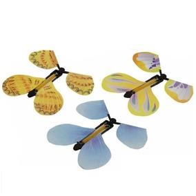 4 Borboletas Voadoras Magia Festinha Truque Susto Descontaço