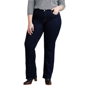 Calça Jeans Women Levis 315 Shaping Bootcut Plus Size Escura