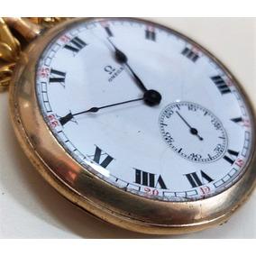 4b8232f7b8d Relogio De Bolso Omega Ouro - Relógios De Bolso em São Paulo no ...