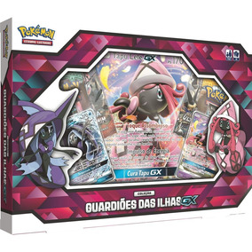 Pokemon Box Guardioes Das Ilhas Gx Tapu Lele Tapu Fini Tcg