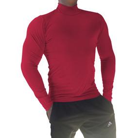 Camisa Casual Manga Longa Masculinas Vermelho no Mercado Livre Brasil 1640a2e531933