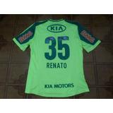 Camisa Palmeiras Verde Jogo 35 Renato G