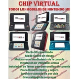 Chip Virtual Consola 3ds 2ds New Versión 11.8 11.9 Ntrboot