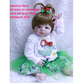 603a8561605f Boneca Reborn Menina Que Pode Dar Banho - Brinquedos e Hobbies no ...