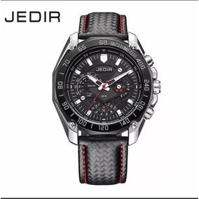 Relógio Masculino De Couro Grife Jedir