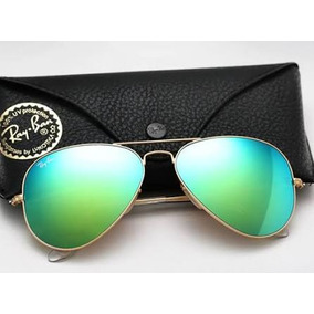 82bbe405fc88a Ray Ban Espejo Color Verde 3025 112 19 100% Originales