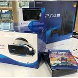 Ps4 Pro De 1tb 4 Juegos 2mandos Accesorios Realidad Virtual