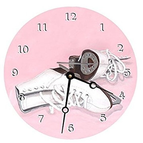 e3bfb8574cac9 Lexington Studio Ice Skates Round Clock, 14