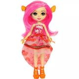 Enchantimals Conjunto Água- Boneca E Peixe-clarita Clownfish