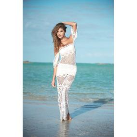 Vestido Largo De 3 Piezas Para La Playa - Sexydipity 4964