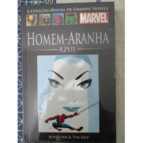 Encadernado Salvat Homem-aranha Azul Jeph Loeb Marvel