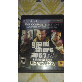 Gta Iv - Complete Edition - Ps3 (completo/manual/mapa)