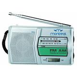 Radio Am/fm Montreal Portatil A Pila (mlr003) Envio Gratis