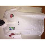 Camiseta De Rugby De La Seleccion De Inglaterra 30c50433db4