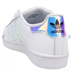 Tenis Adidas Holográfico - Calçados, Roupas e Bolsas no Mercado ... 085f9f3b396c