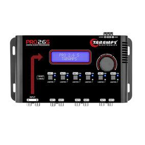 Processador Taramps Pro 2.6s Audio 6 Saida Digital Crossover