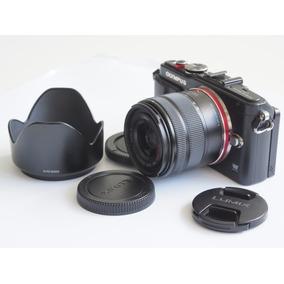 (r$1500*) Mirrorless Olympus E-pl6 16 Mp + Lente Lumix 14 42
