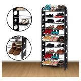 Organizador Porta Zapatos Armable Zapatera 30 Pares 10 Pisos