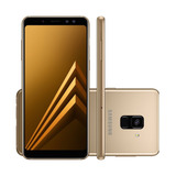 Galaxy A8 Android 7.1 64gb Tela 5.6 Cam16mp 4gb Ram