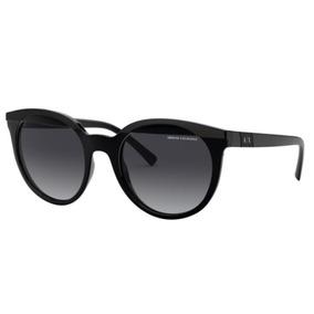 cec1c176a Oculos Sol Armani Exchange Ax4086s 81588g 53 Preto Brilho