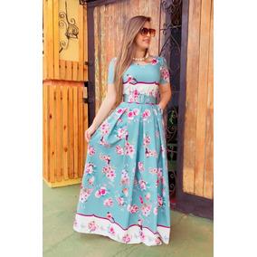 Floral Longo Love Moda Evangélico Boneca