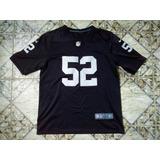 Camisas De Futebol Americano Raiders no Mercado Livre Brasil b3a87f34c2706