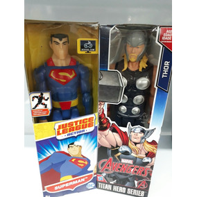 Boneco Original Superman E Thor