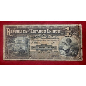 Cédula R076 - 1000 Réis 1917 Frete Grátis *