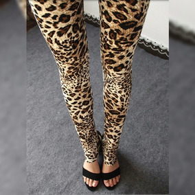 Leggings Leopardo #2 Sexy Moda Mujer 2018