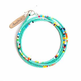 Sammy Wrap Bracelet By Bunny Shapiro / Turquoise / Pulsera