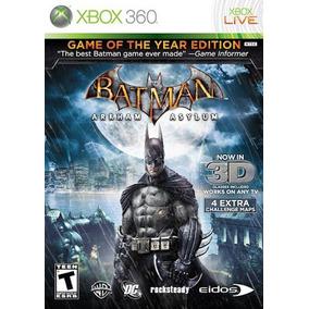 Jogo Batman Arkham Asylum Xbox 360 Física Frete Grátis!