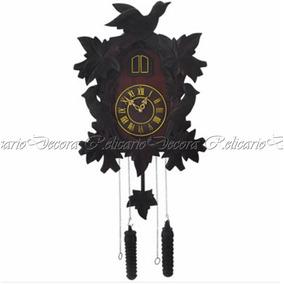 97e410fbe35 Relógio Cuco Em Madeira Modelo Antigo - Relógios De Parede Antigos ...