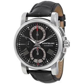 58f6fd403cd Relógio Montblanc 102377 Star Chronograph Automatico Origina