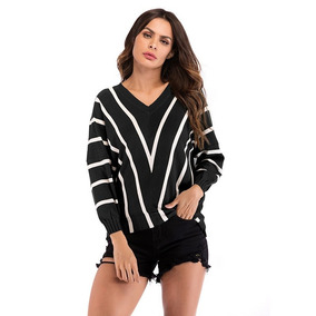 Yyfs 2018 Nuevo Algodón Camisa Polo Mujeres Rayas V-cuello P · 43 colores 9852609efe03e