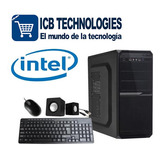 Pc Genérica Intel G5400 3.7ghz 4gb Ssd 120gb 500gb Icb Techs
