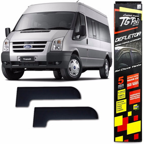 Calha Chuva Ford Transit 2010/2014 2p Tg Poli Defletor