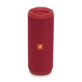 Caixa De Som Portátil Jbl Flip 4 Bluetooth Vemelha