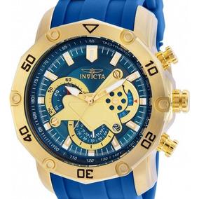Relógio Invicta Pro Diver 22798 Azul Dourado Masculino