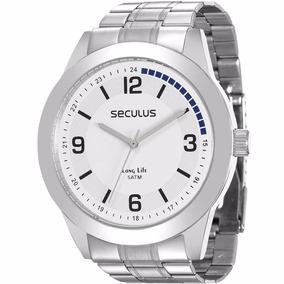 bb12372632a Relógio Seculus Masculino Long Life 28885g0svna1 - Loja