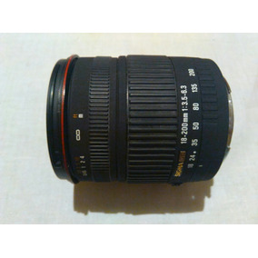 Lente Sigma Para Canon 18-200mm Y Otros.