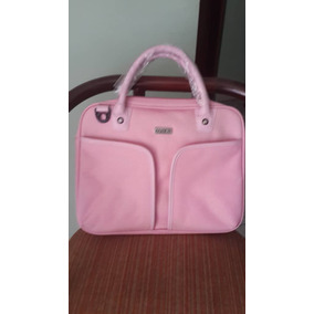 Cartera Porta Laptop Pc Desktop Marca Eqqus Color Rosa