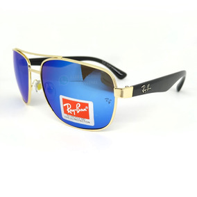 35092cee7495a Gafas Ray Ban Lente Azul Cuadrada Filtro Uv 50% Descuento