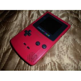 Game Boy Color Cor Rosa Pink Raridade Leia A Todo O Anúncio:
