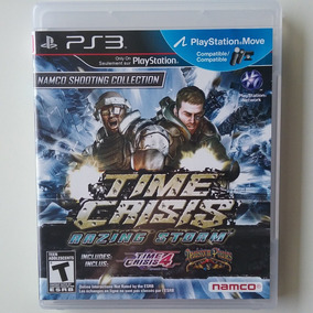 Time Crisis Razing Storm Ps3 Mídia Física Original Perfeito