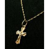 Dije De Oro 18k Crucifijo Cristo Bebes (0,6g)