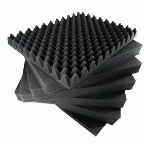 Espuma Acústica Perfilada P/ Estúdio 10 Placas 50x50cm 40mm